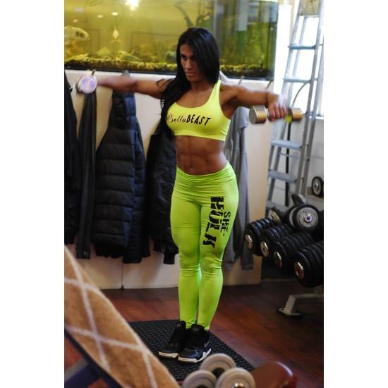 Green She-hulk legging