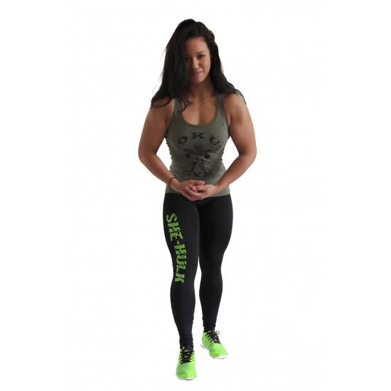 Black She-Hulk legging