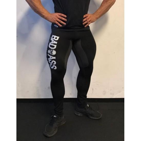 Black Badass Gymwear Men Leggings